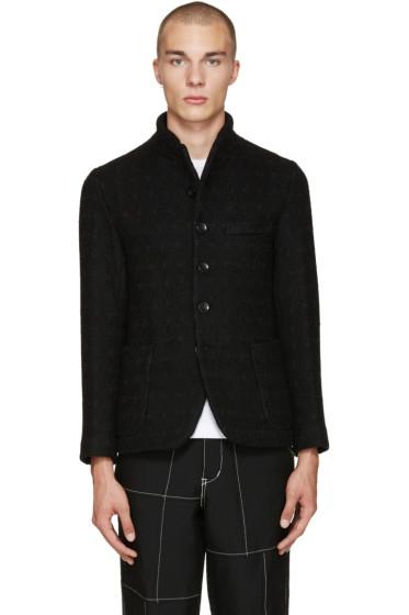 Blue Blue Japan - Black Roving Tweed Jacket