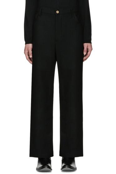 Wales Bonner - Black Nehisi Trousers