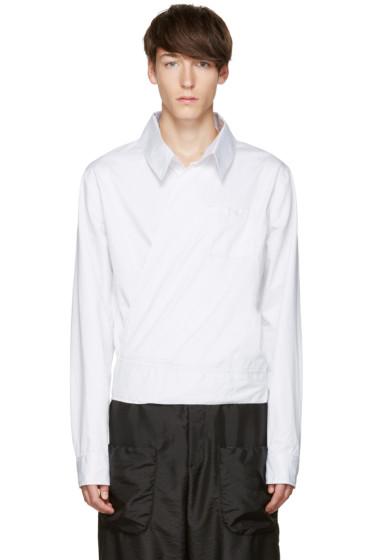 Telfar - White Wrap Shirt