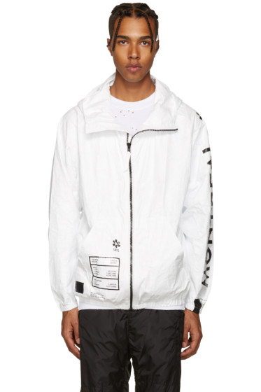UEG - SSENSE Exclusive White Tyvek Jacket