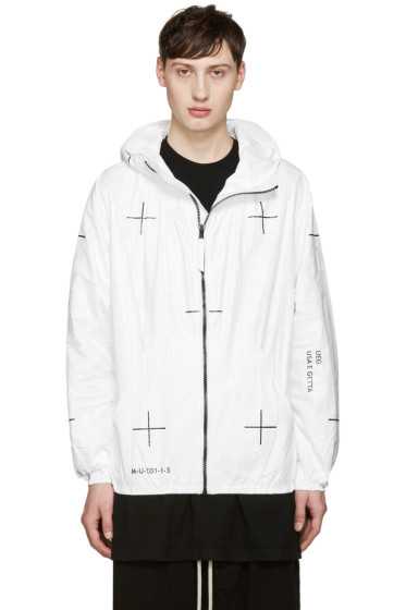 UEG - White 'Machine 1' Jacket