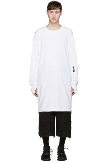 UEG - White Long Pullover