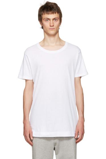 John Elliott - White Mercer T-Shirt