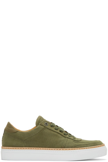No.288 - Green Canvas Grand Sneakers