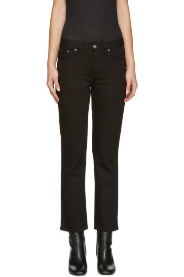 Totême - Black Straight Jeans