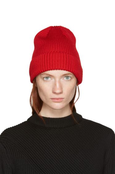 Hyke - Red Wool Beanie