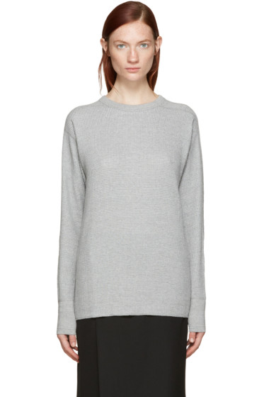 Hyke - Grey Thermal T-Shirt