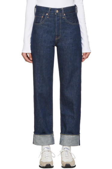 Chimala - Blue Speckled Selvedge Jeans