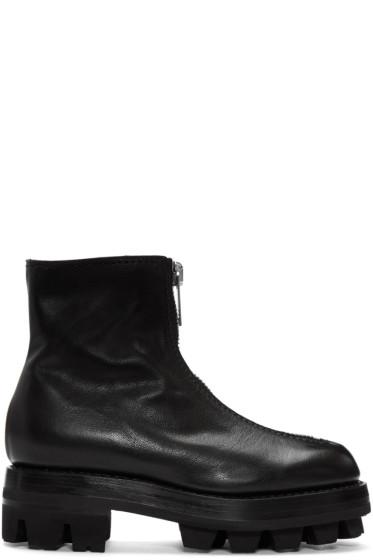 Alyx - Black Tank Zip Boots
