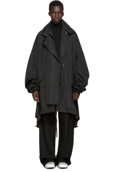 Ports 1961 - Black Oversized Coat
