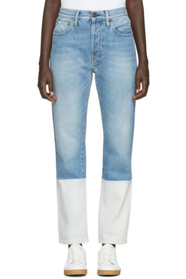Ports 1961 - Blue Cuffs Jeans