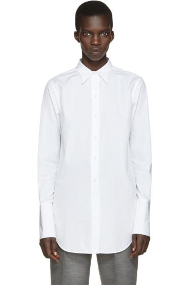 Ports 1961 - White Poplin Shirt