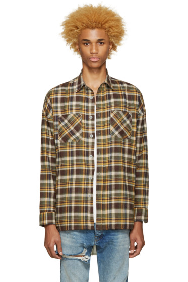 Fear of God - SSENSE Exclusive Green 4th Collection Shirt