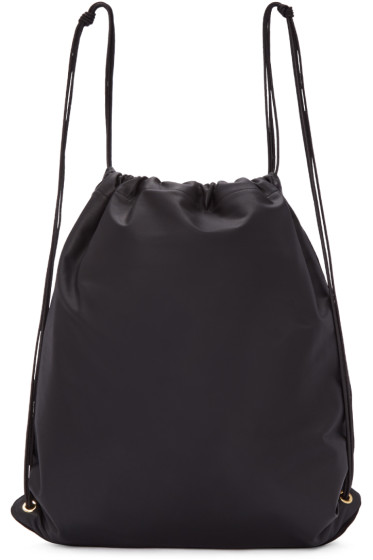 Tsatsas - SSENSE Exclusive Black Leather Xela Backpack