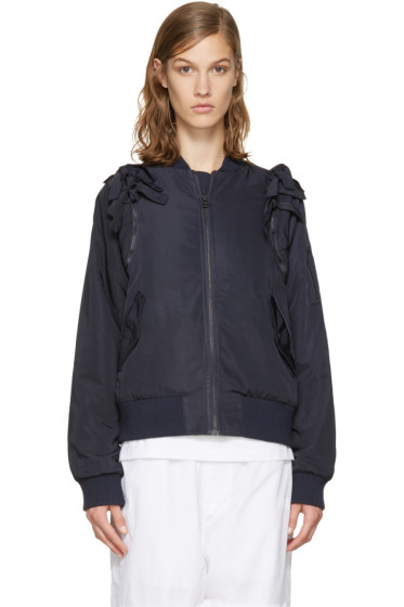 Perks and Mini - Navy Connected Bomber Jacket