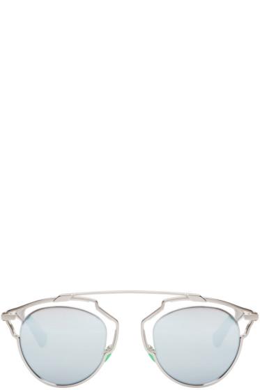 Dior - Silver So Real Sunglasses