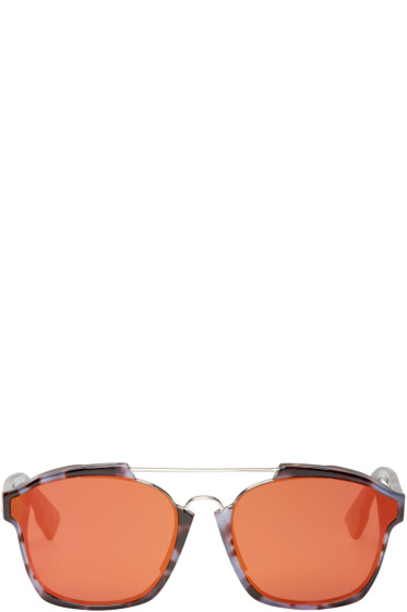 Dior - Purple Abstract Sunglasses