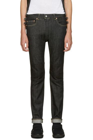 Ganryu - Black Selvedge Denim Jeans