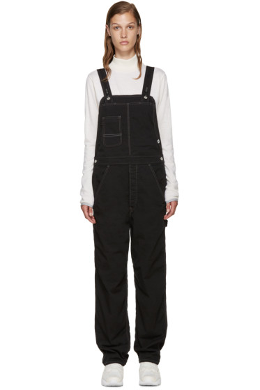 and Wander - Black Outlast® Cotton Overalls