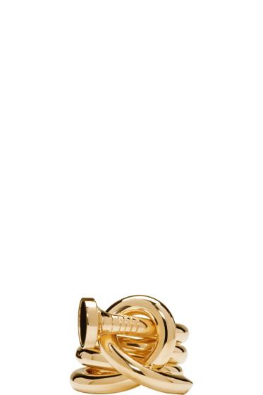 Ambush - Gold Kugi 3 Ring