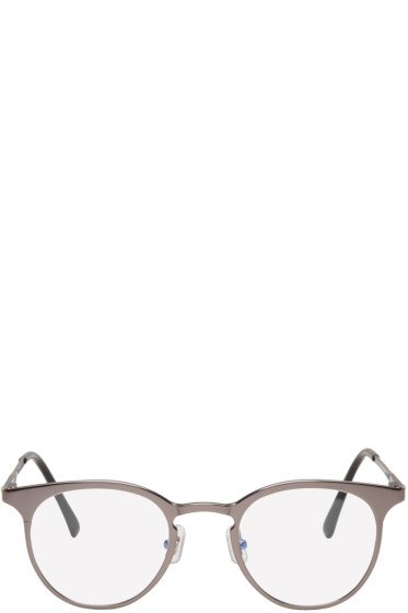 Gentle Monster - Gunmetal Pluto Optical Glasses