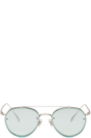 Gentle Monster - Blue Debby Sunglasses