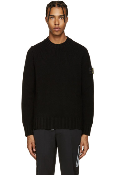 Stone Island - Black Knit Sweater
