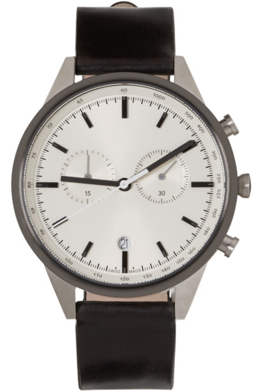 Uniform Wares - Silver & Gunmetal C41 Watch