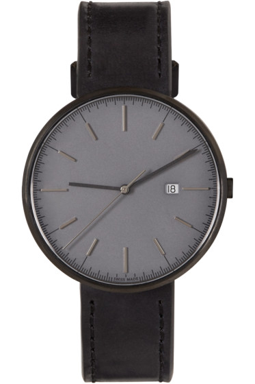 Uniform Wares - Gunmetal & Black M40 Watch