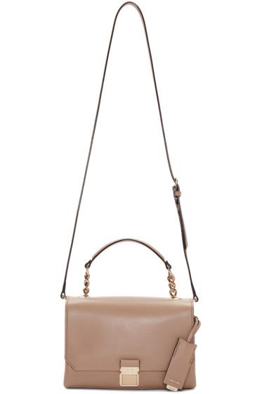 Miu Miu - Nude Leather Shoulder Bag