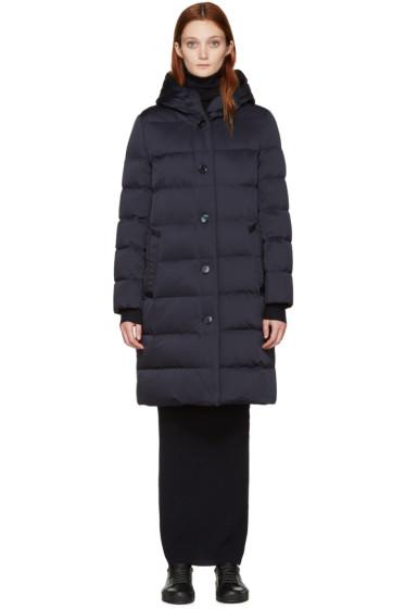 Mackintosh - Navy Down Long Coat