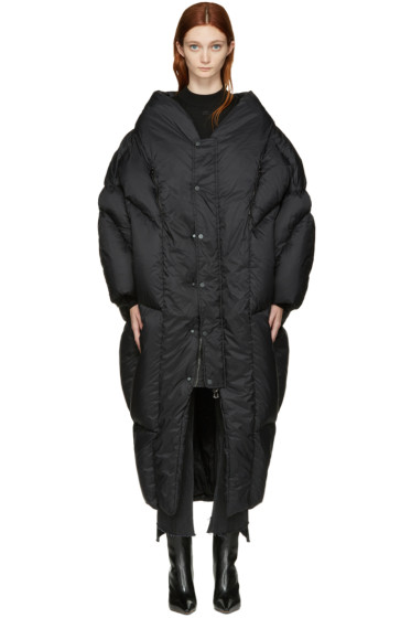 Chen Peng - Black Down Coat