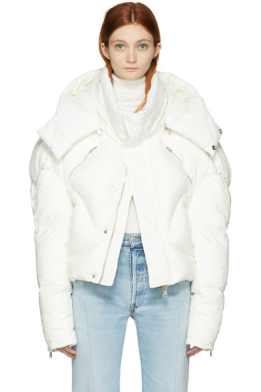 Chen Peng - White Down Jacket
