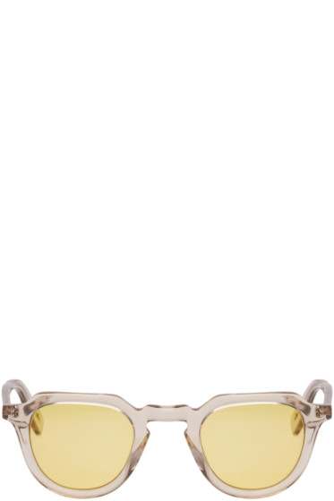 All In Eyewear - Yellow Voltaire Sunglasses