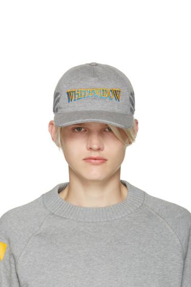 Moncler O - Grey Whitewidow Baseball Cap