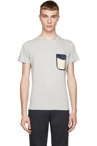 Visvim - Grey Snap Pocket T-Shirt