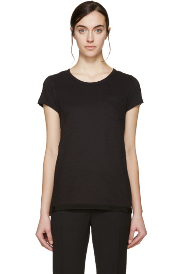 Moncler - Black Trapeze T-Shirt