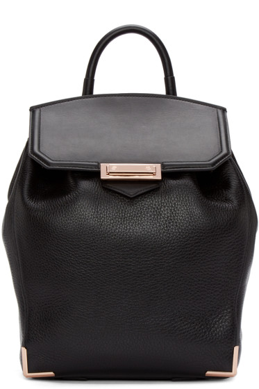 Alexander Wang - Black Prisma Skeletal Backpack