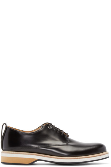 Want Les Essentiels - Black Leather Montoro Derby