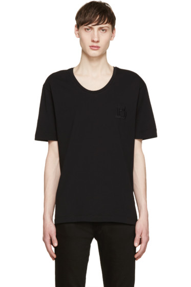 Pierre Balmain - Black Logo T-Shirt