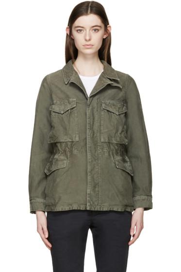 Visvim - Green Chino Achse Jacket
