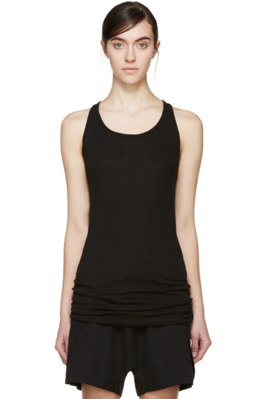 Boris Bidjan Saberi - Black Ribbed Tank Top