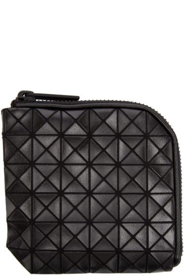Bao Bao Issey Miyake - Black Geometric Matryoshka Zip Wallet