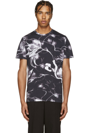 Diesel - Black T-Joe-Gh Flower T-Shirt