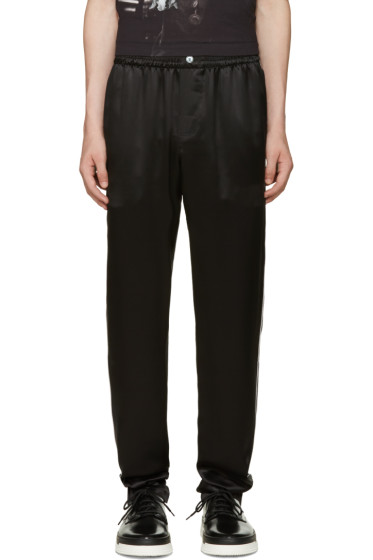 Dolce & Gabbana - Black Silk Pyjama Trousers
