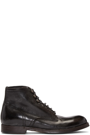 Dolce & Gabbana - Black Leather Boots