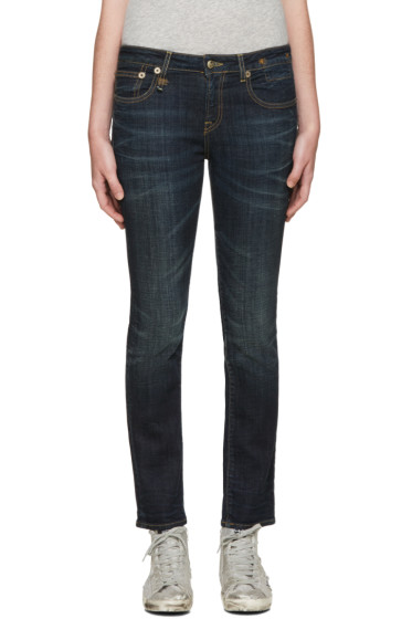 R13 - Indigo Kate Skinny Jeans