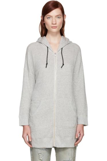 R13 - Grey Oversized Hoodie