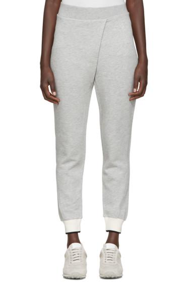 Rag & Bone - Grey Draped Lounge Pants