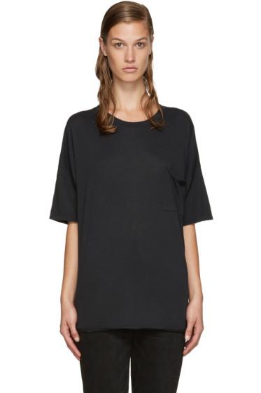 Rag & Bone - Black Big T-Shirt